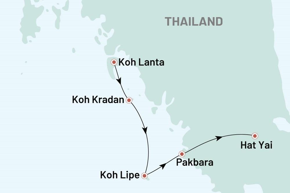 Sydthailand Med Koh Lipe Tilbagelaenet Livsstil I Thailand