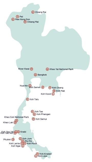 Individuelle Rejser Til Thailand Oplev Thailand Pa Egen Hand